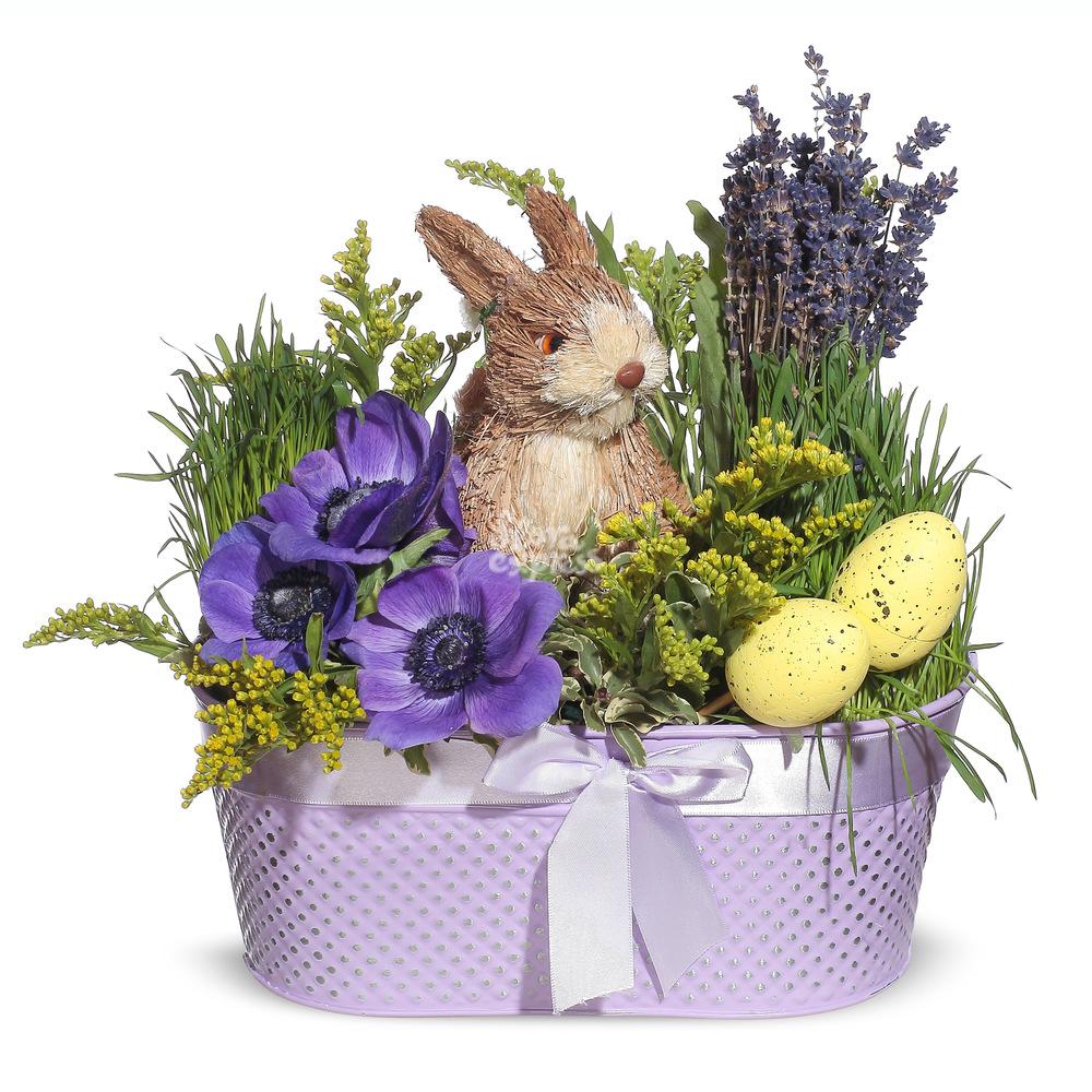 Букет «Flora Express», Пасхальный кролик