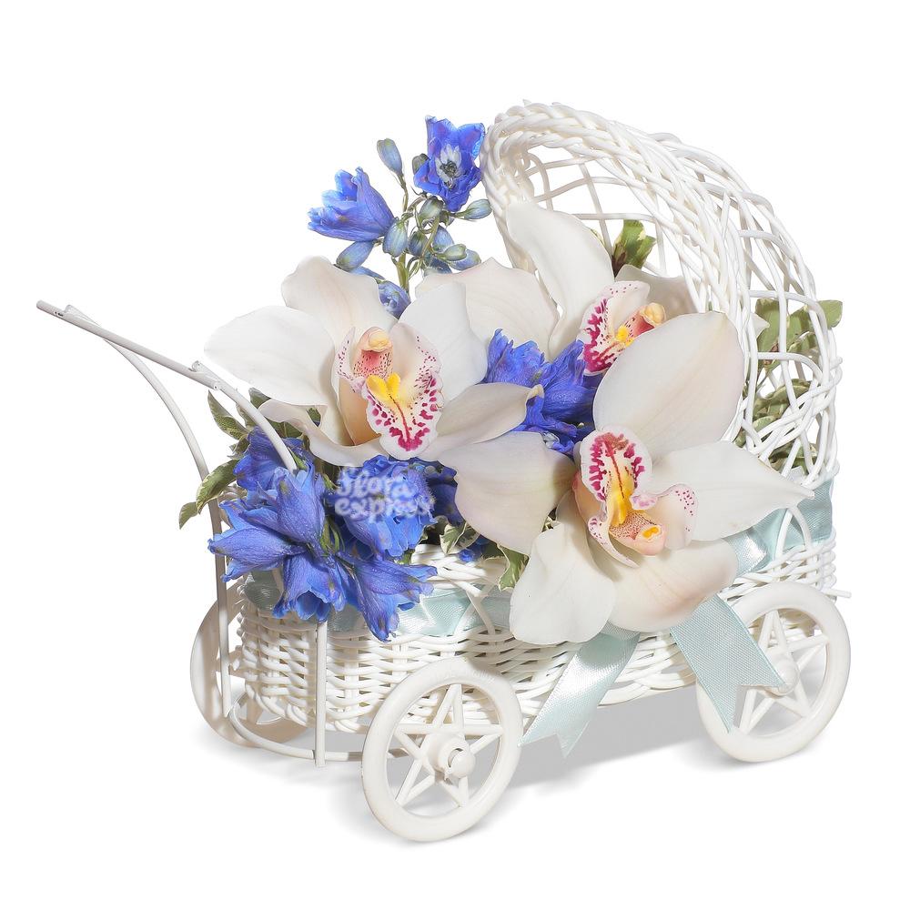 Букет «Flora Express», С Новорожденным!