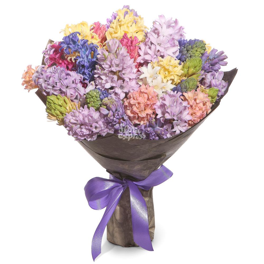 Букет «Flora Express», Разноцветное счастье