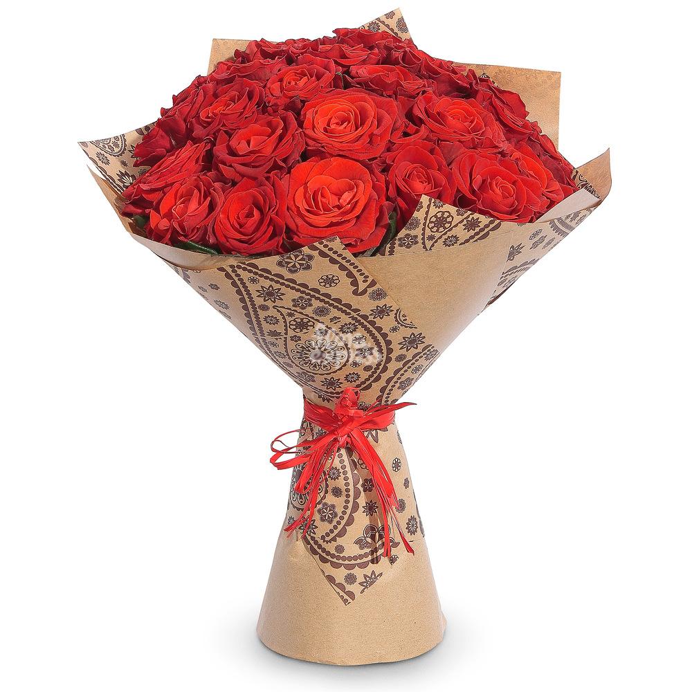 Букет «Flora Express» Красные розы фото