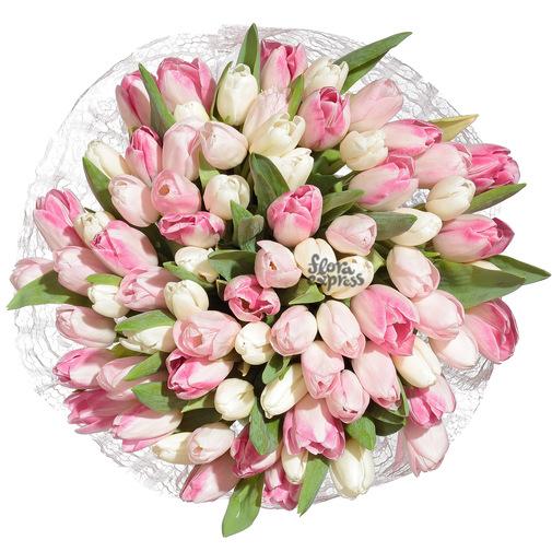 Вау, мои любимые тюльпаны! - изображение букета 2