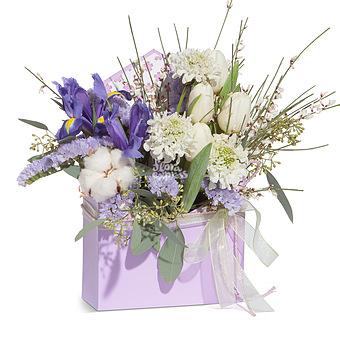 Букет Lilac envelope